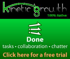 Done Salesforce app for tasks