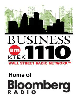 KTEK 1110 AM Bloomberg logo