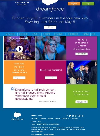 dreamforce 2014 - salesforce user conference