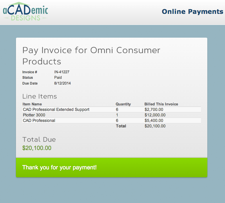 accept payments online using salesforce