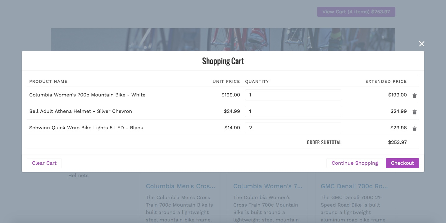 Venue: Salesforce eCommerce & shopping cart integration app